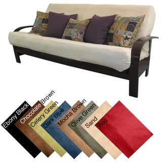 Ultima Queen-size Microfiber Soft Suede Futon Cover
