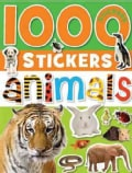 1000 Stickers - Animals (Paperback)