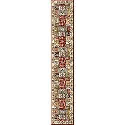 Lyndhurst Traditional Multicolor/ Ivory Runner (2'3 x 16')