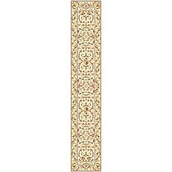 Safavieh Lyndhurst Collection Traditional Ivory/ Ivory Runner (2'3 x 16')