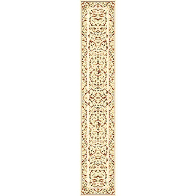 Safavieh Lyndhurst Collection Traditional Ivory/ Ivory Runner (2'3 x 22')