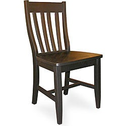 Black Schoolhouse Chairs (Set of 2)