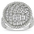 14k White Gold 1ct Diamond Ring (I-J, I1-I2)