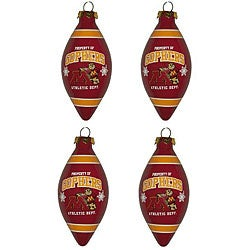 Minnesota Gophers Teardrop Ornaments (Set of 4)