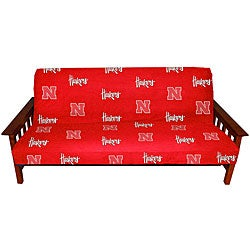 College Covers Nebraska Huskers Full-size Futon Cover
