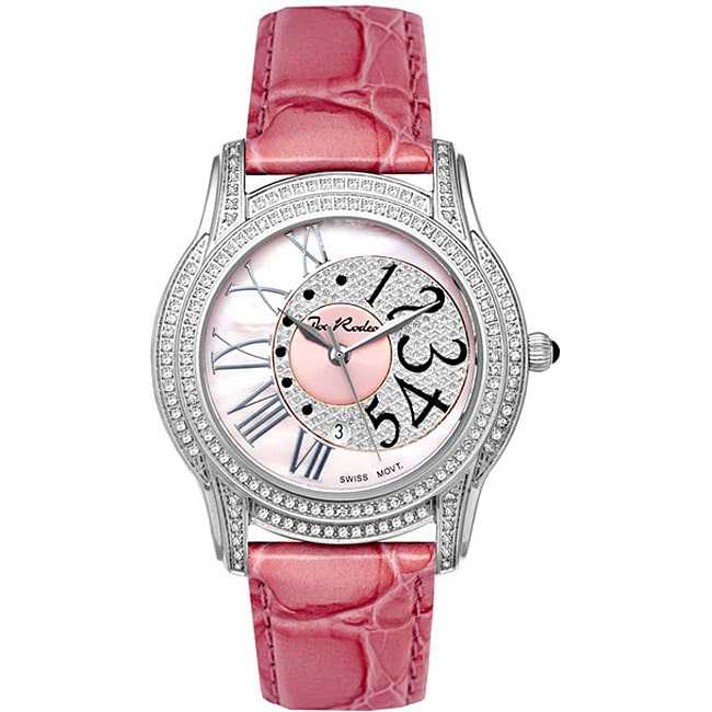 Joe Rodeo Women's 'Beverly' Diamond Watch