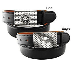 H2W Brand Men's Brick Buckle Belt