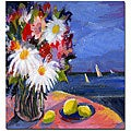 Sheila Golden 'Out to Sea' Gallery-wrapped Canvas Art