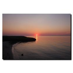 Cary Hahn 'Ruby Sunset' Gallery-wrapped Canvas Art