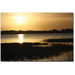 Patty Tuggle 'End of the Day' Canvas Art