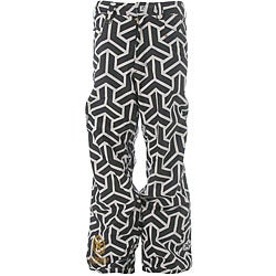 Sessions Neff Print Men's White and Black Snowboard Pants