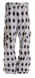 Sessions Men's White Gridlock Snowboard Pants