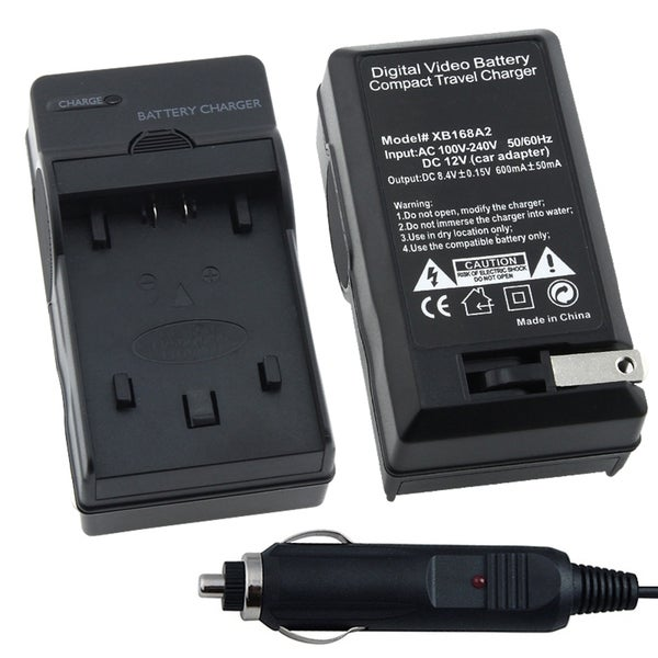 INSTEN Compact Battery Charger Set for Sony Batteries