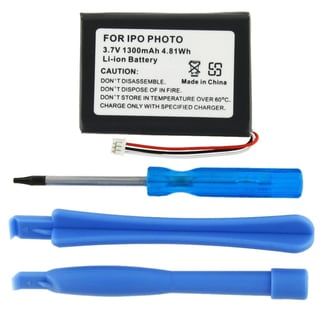 Replacement 3.7-volt Li-ion Battery for iPod Photo