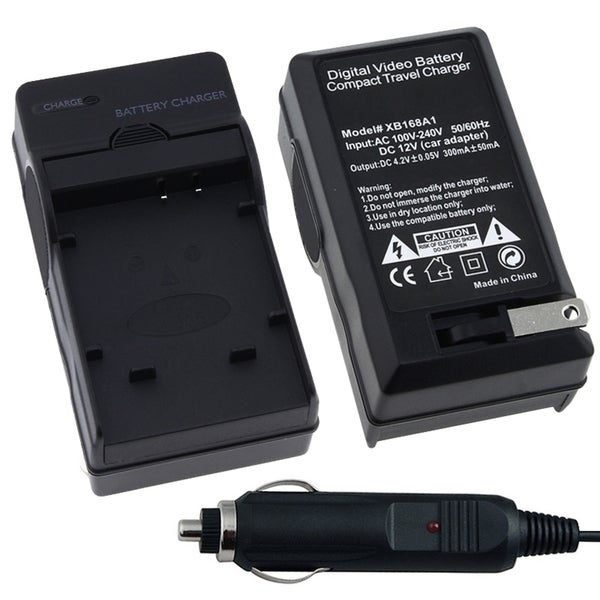 eForCity Compact Battery Charger Set Compatible WIth Olympus Li-50B