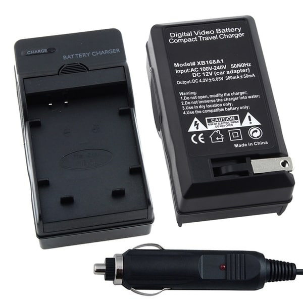 INSTEN Compact Charger Set for Canon Batteries