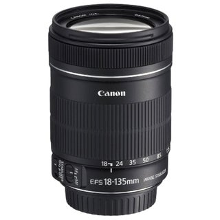 Canon EF-S 18-135mm F/3.5-5.6 IS Zoom Lens (New in Non-Retail Packaging)