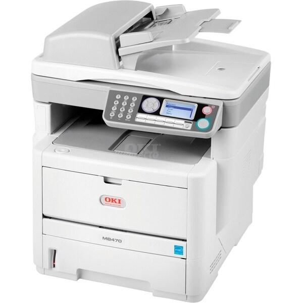 Oki MB480 LED Multifunction Printer - Monochrome - Plain Paper Print