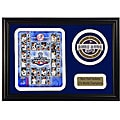2009 New York Yankees World Series Champions Patch Frame