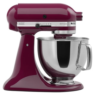 KitchenAid KSM150PSBY Boysenberry 5-quart Artisan Stand Mixer *plus Overstock $30 gift card and $30 KitchenAid mail-in rebate