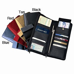Royce Leather Expanded Document Cases (Set of 2)