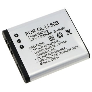 Olympus Li-50B Compatible Li-Ion Battery