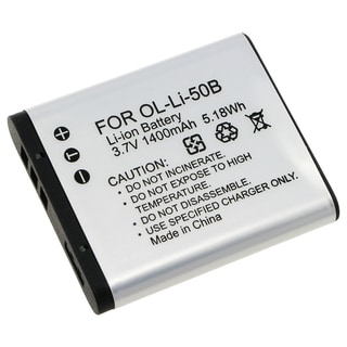 INSTEN Olympus Li-50B Compatible Li-Ion Battery