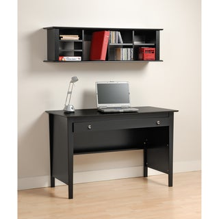 Broadway Black Contemporary Computer Desk