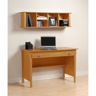 Montego Maple Contemporary Computer Desk
