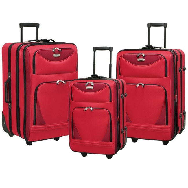Traveler's Club Luggage Travelers Club Skyview 3-piece Luggage Set