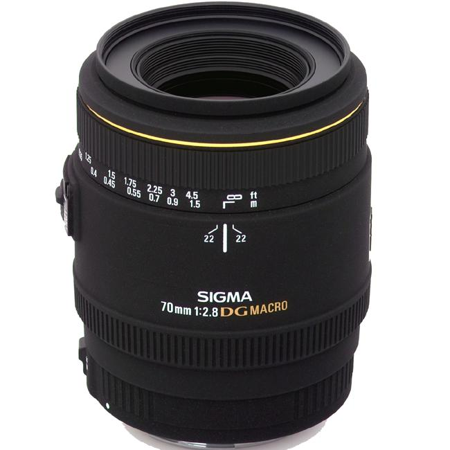 Sigma 70mm F2.8 EX DG Macro Lens for Canon
