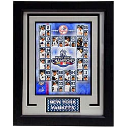 2009 New York Yankees World Series Champions Deluxe Frame