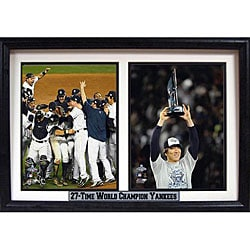 New York Yankees and Hideki Matsui 2009 Champions Photo Frame