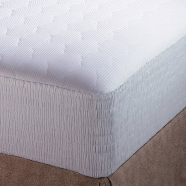 Croscill Pima Cotton 310 Thread Count Mattress Pad
