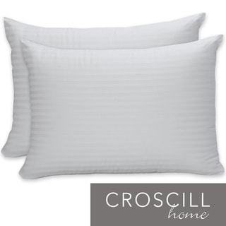 Croscill Cotton Sateen Bed Pillows (Set of 2)