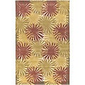 Hand-tufted Kona New Zealand Wool Rug (8' x 11')