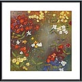 Aleah Koury 'Gardens in the Mist IV' Metal Framed Art Print