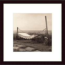 Christine Triebert 'Hammock' Wood Framed Art Print
