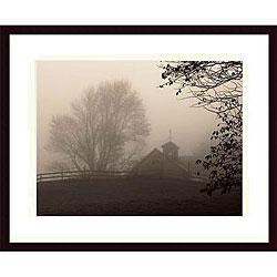 Christine Triebert 'Parish Hill Barn' Wood Print