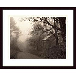 Christine Triebert 'Parish Hill Road' Framed Art Print