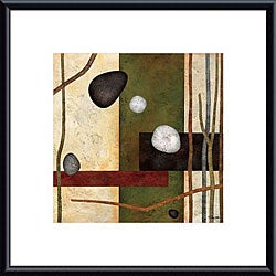 Glenys Porter 'Sticks and Stones VIII' Framed Art Print