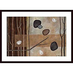 Glenys Porter 'Sticks and Stones IV' Framed Art Print
