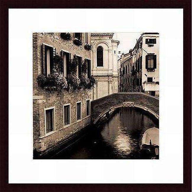 Alan Blaustein 'Ponti di Venezia No. 2' Framed Photo Print