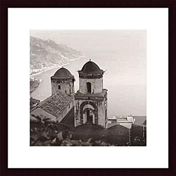Alan Blaustein 'Ravello Vista' Wood Framed Art