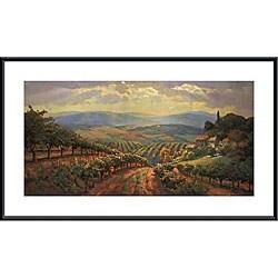 Leon Roulette 'Tuscany Splendor' Framed Art Print