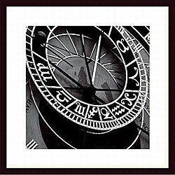 Tony Koukos 'Pieces of Time I' Wood Framed Art Print