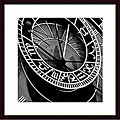 Tony Koukos 'Pieces of Time I' Wood Framed Art Print