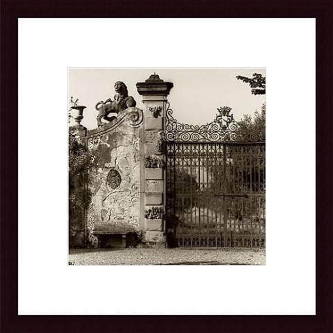Alan Blaustein 'Tuscan Gate' Framed Art
