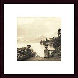 Alan Blaustein 'Villa Monastero' Framed Print