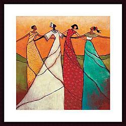 Monica Stewart 'Unity' Wood Framed Art Print